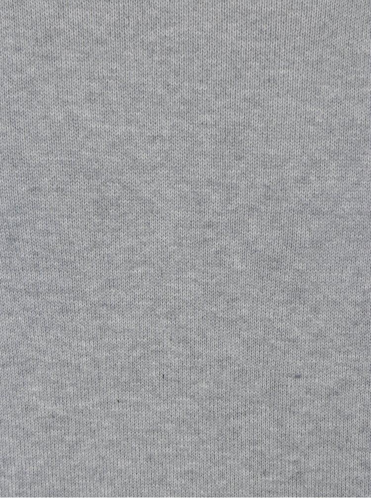Pulover subtire gri cu decolteu anchior - Blend