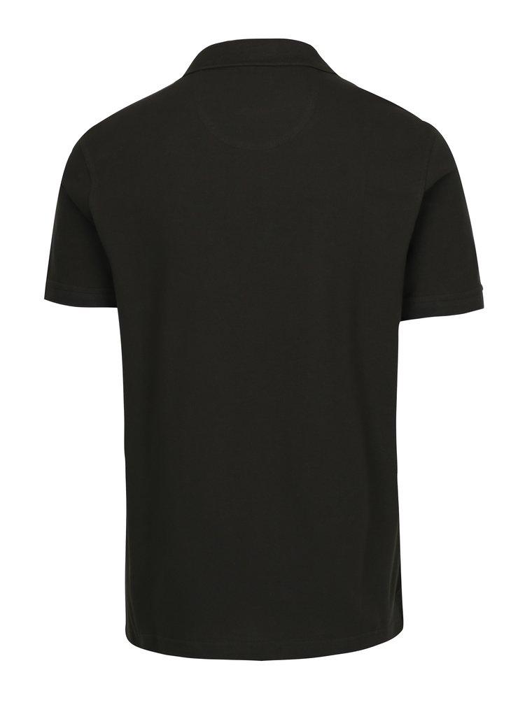 Tmavě zelené polo tričko Barbour Tartan Pique