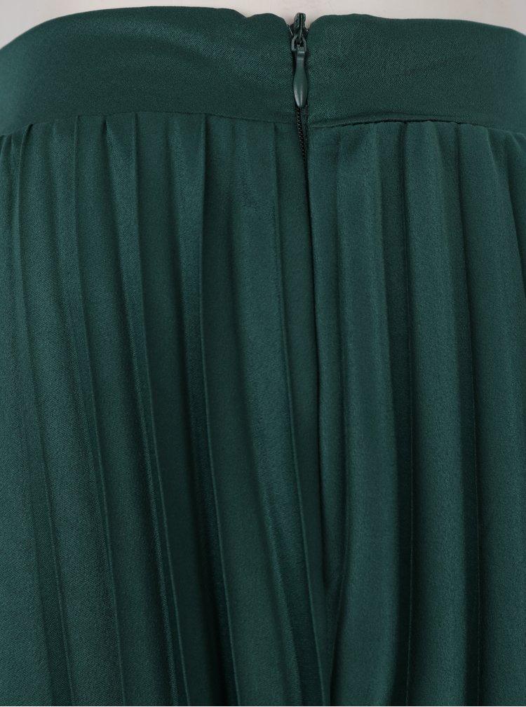 Zelená plisovaná midi sukně ZOOT