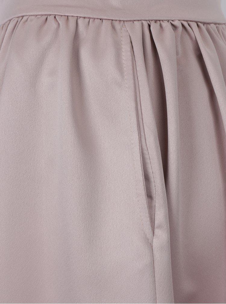Starorůžová áčková sukně ZOOT