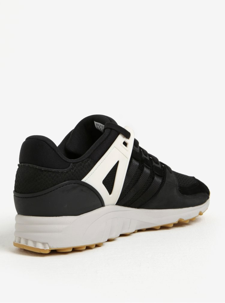 Černé pánské tenisky se semišovými detaily adidas Originals Support