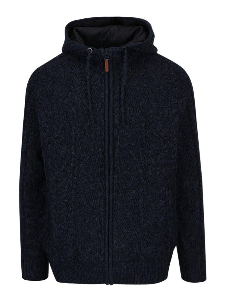 Tmavě modrá bunda Blend