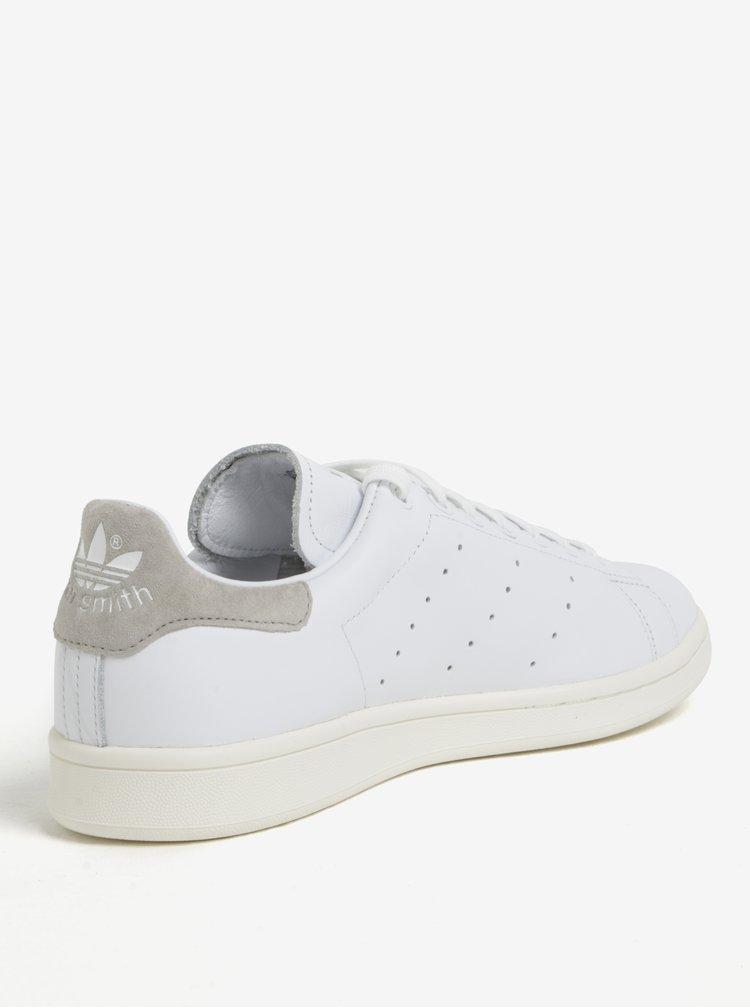 Bílé pánské kožené tenisky adidas Originals Stan Smith