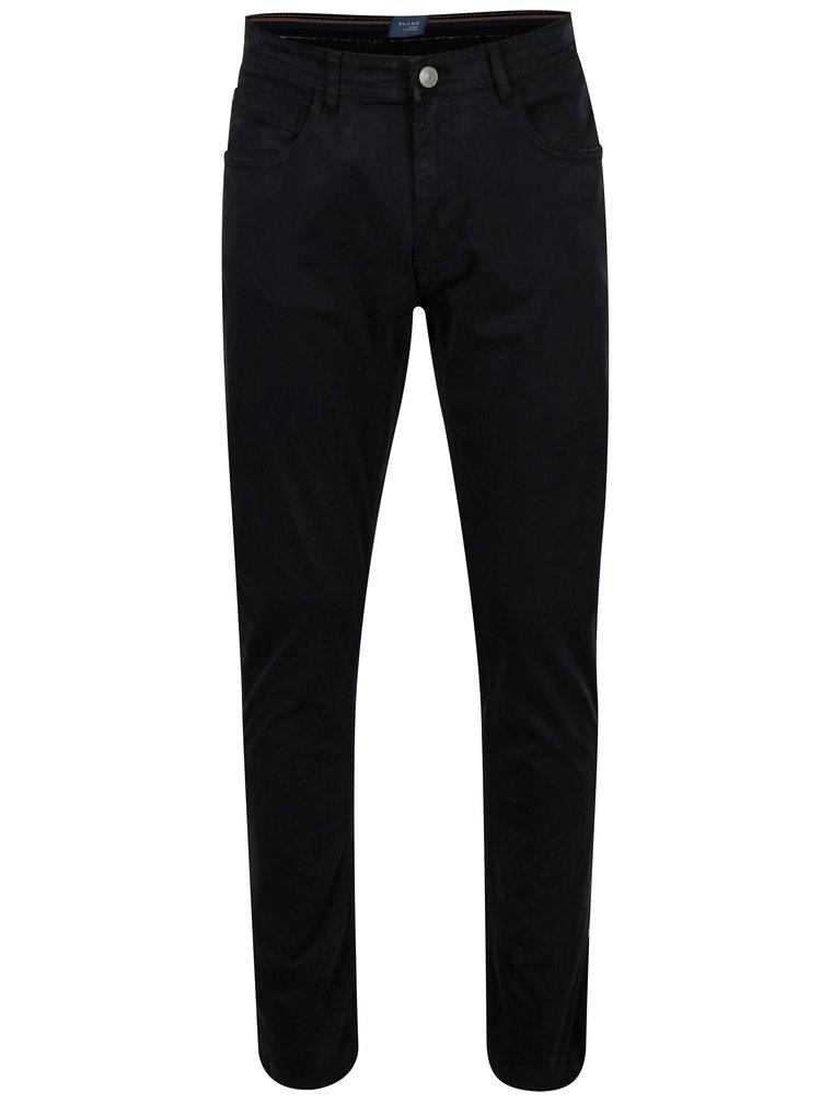 Černé slim fit kalhoty Blend