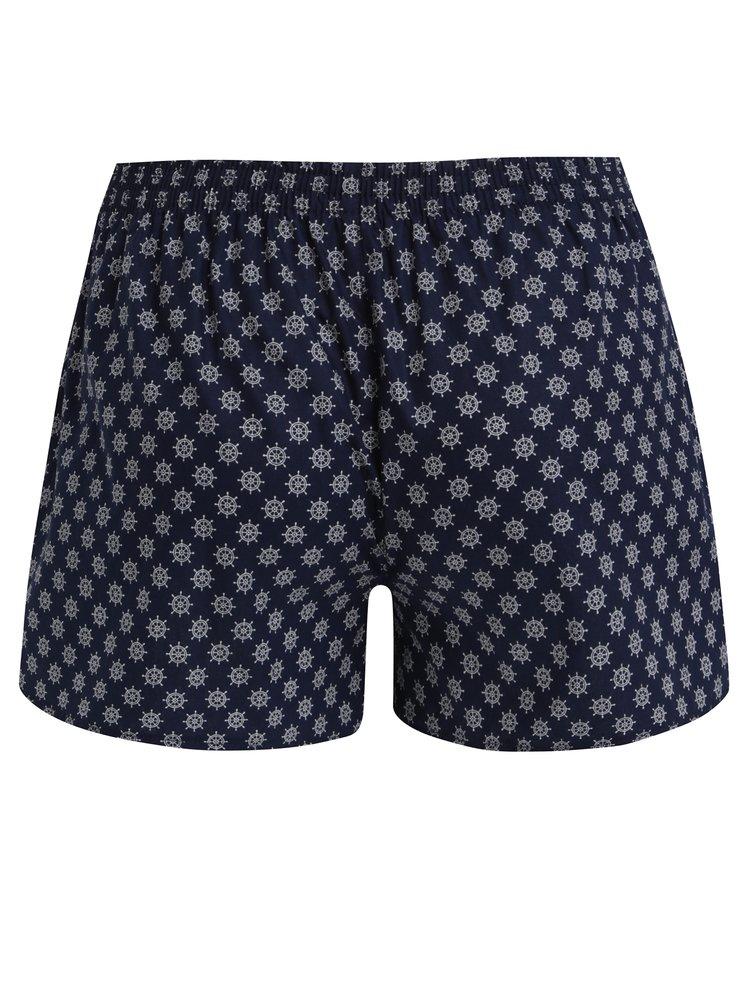 Tmavě modré dámské trenky s kormidly El.Ka Underwear