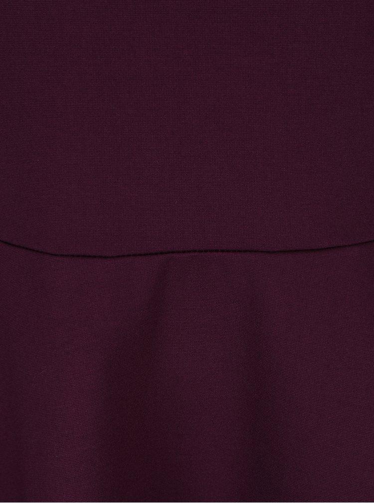 Fialové šaty s pásky na zádech ZOOT