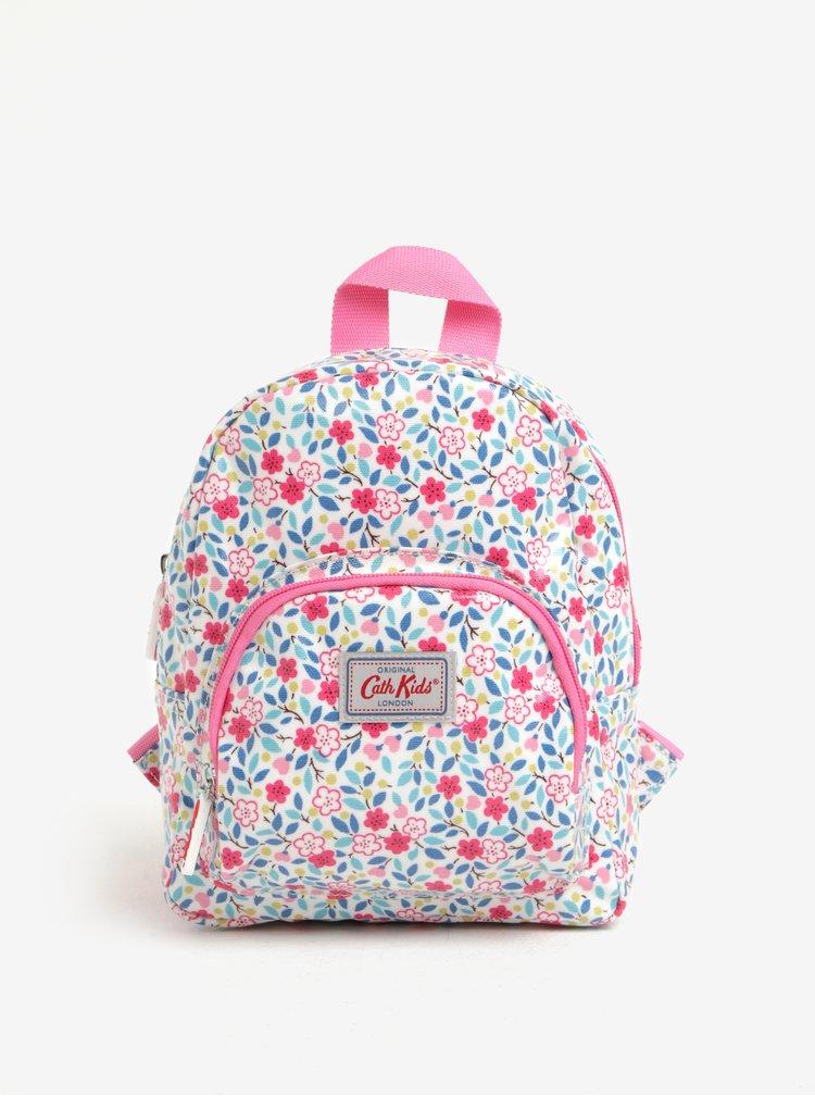 Růžovo-krémový holčičí květovaný batoh Cath Kidston