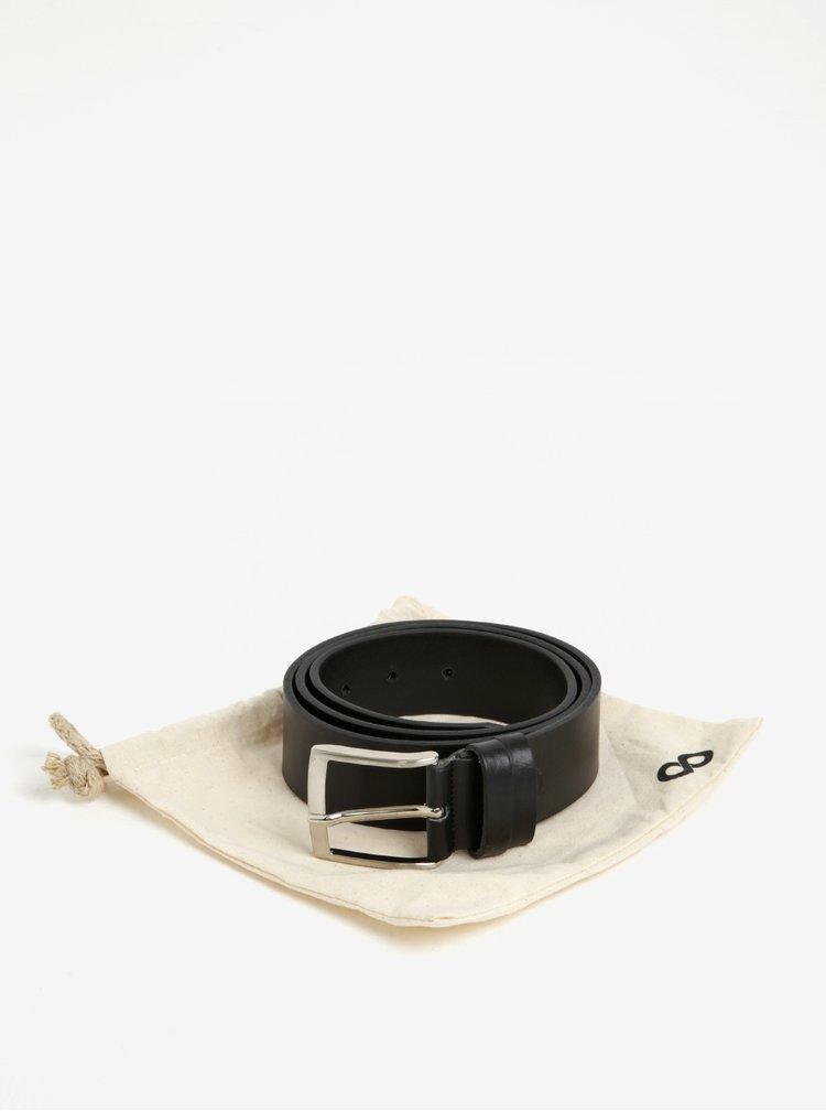 Čierny pánsky kožený opasok ZOOT