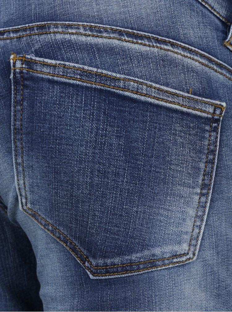 Modré těhotenské slim fit džíny Mama.licious Golden