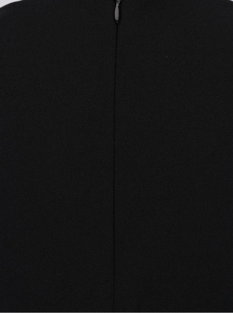 Salopeta neagra cu decolteu suprapus Dorothy Perkins