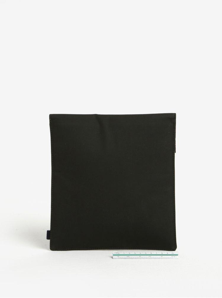 Tmavě zelené pouzdro na tablet Barbour Drywax