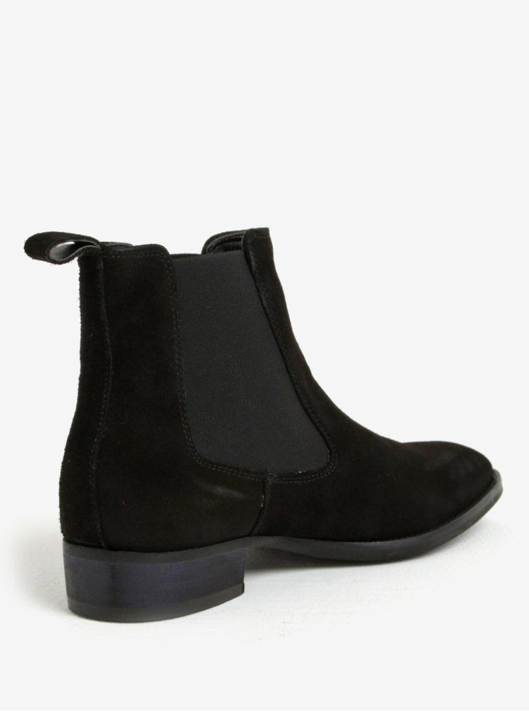 Černé pánské semišové chelsea boty ALDO Oneillan