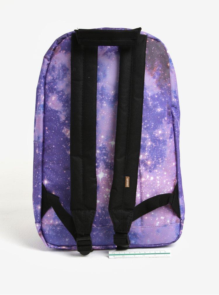 Rucsac cu print constelatie si buzunar pentru notebook Spiral Galaxy Saturn 18 l