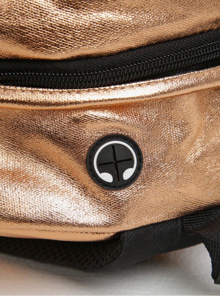 Metalický batoh v měděné barvě Spiral Copper Rave 18 l