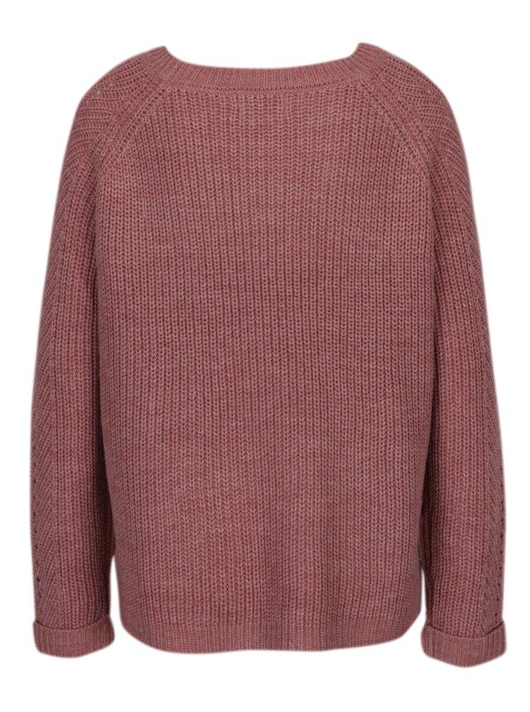 Starorůžový svetr ONLY New Jemma
