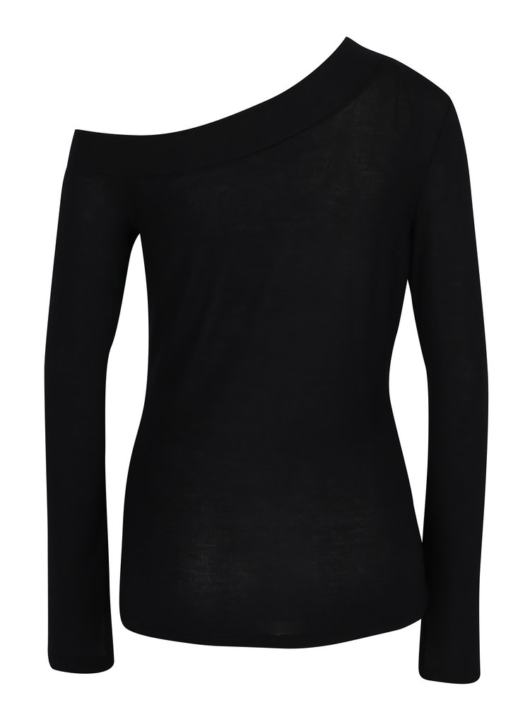 Bluza neagra asimetrica Noisy May Kennedy