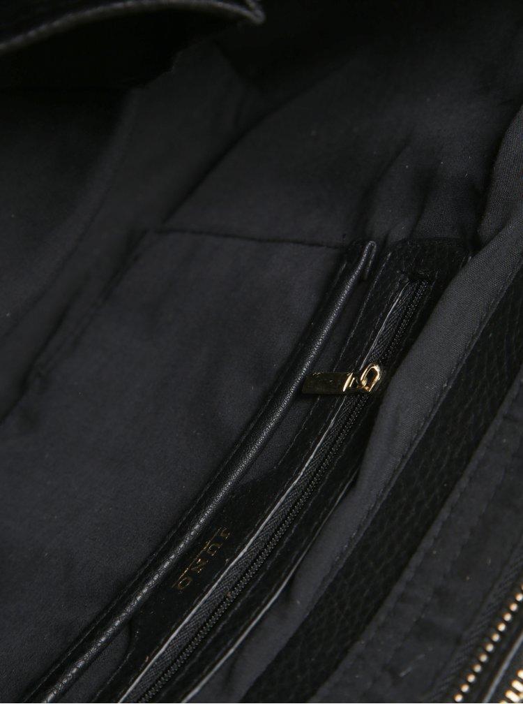 Černá kabelka do ruky Juno