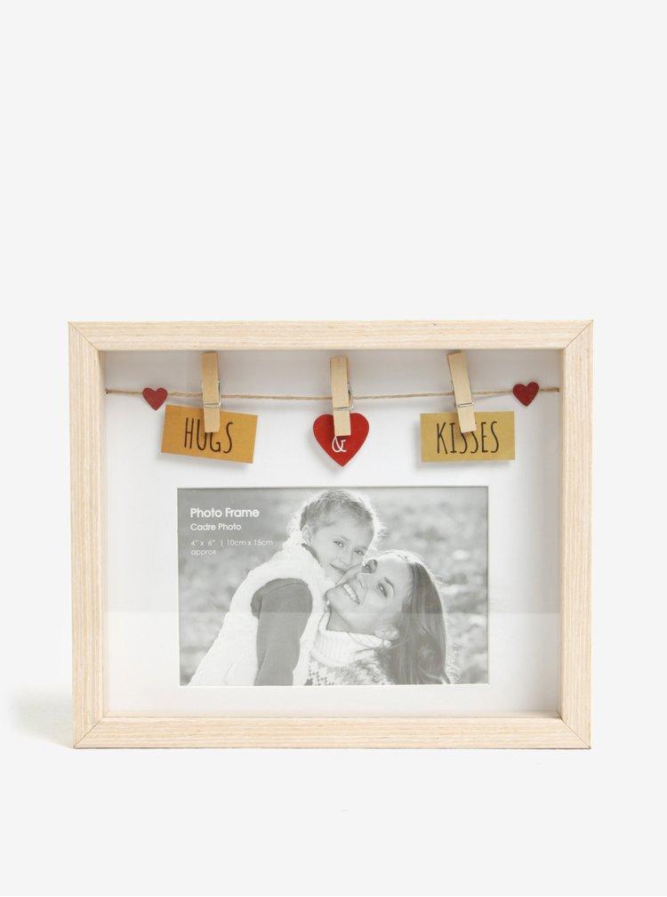 Rama foto din lemn - SIFCON Hugs&Kisses