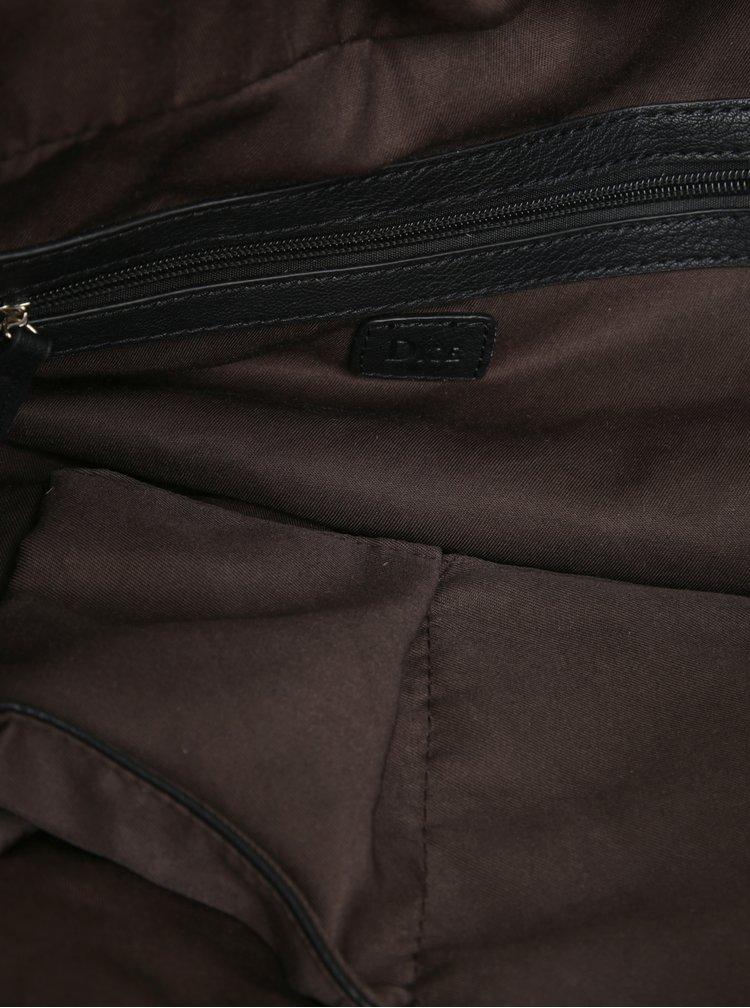 Černá cestovní taška Dice Overnight