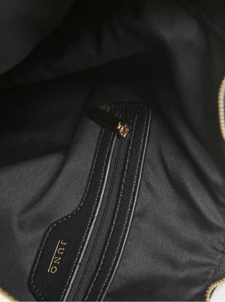 Černá kabelka přes rameno barvě Juno