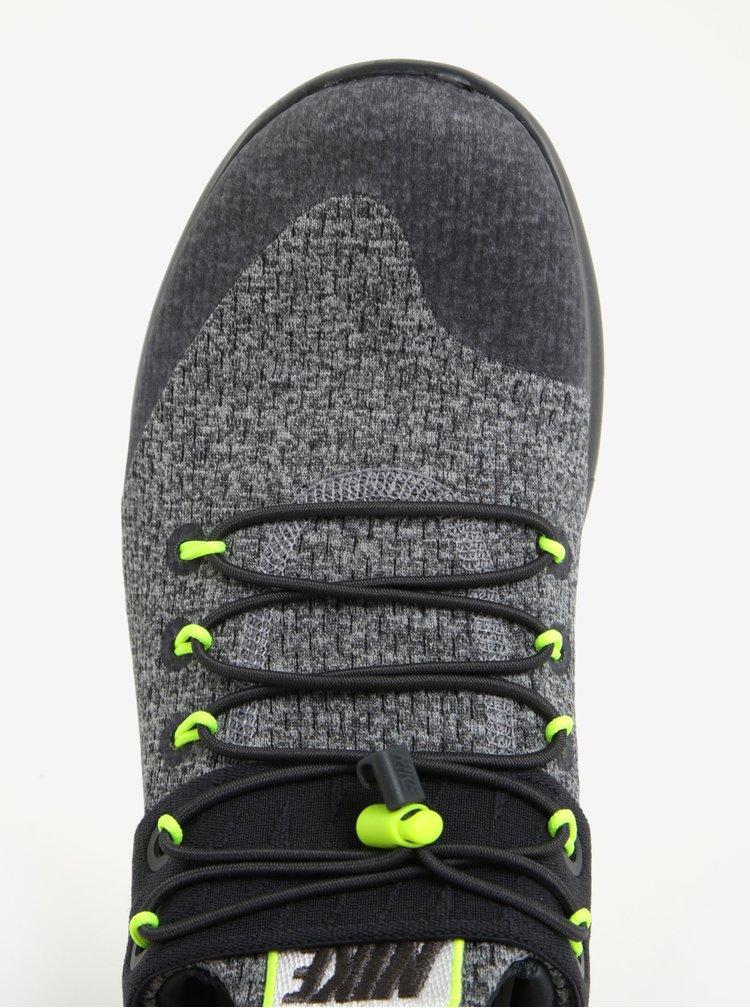 Pantofi sport gri cu negru pentru barbati Nike Free RN Commuter