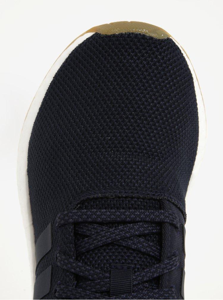 Tmavě modré dámské tenisky se semišovými detaily adidas Originals NMD R2