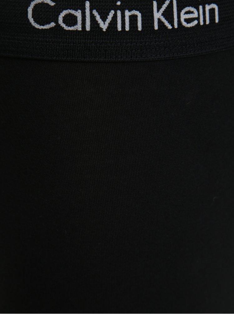 Sada tří classic fit boxerek v černé barvě Calvin Klein Underwear