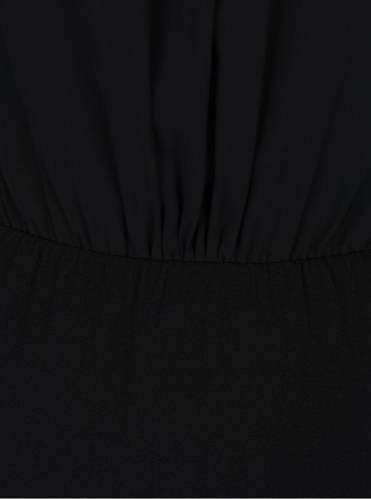 Černé šaty s krajkou VERO MODA Nadenka