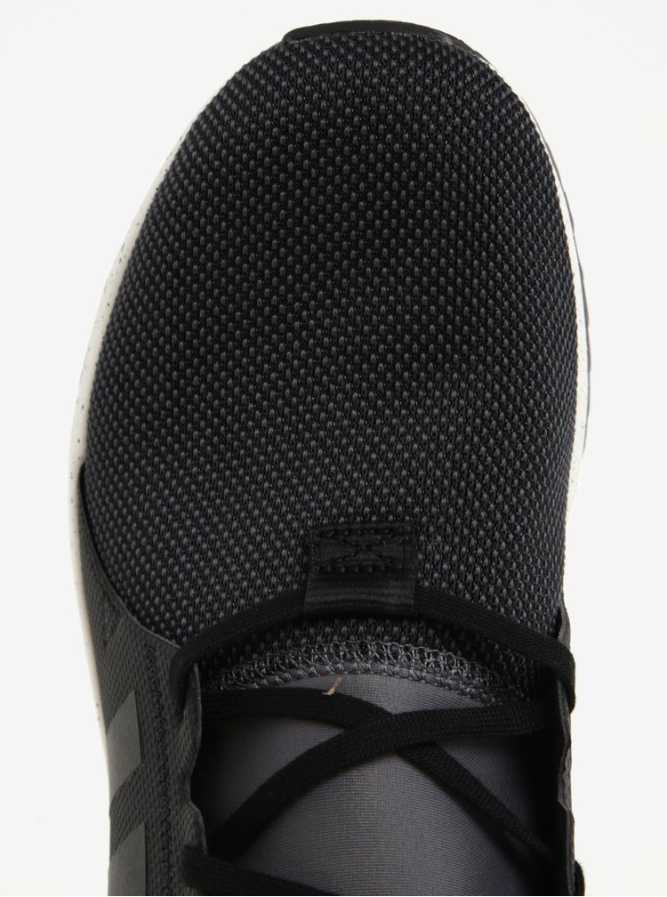 Pantofi sport negri de alergat pentru barbati adidas Originals PLR Sneakerboot