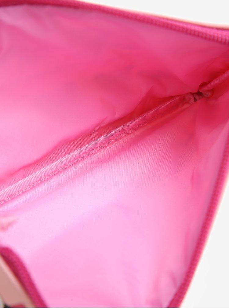 Růžový holčičí penál s motivem Pandy Tyrrell Katz Pandas