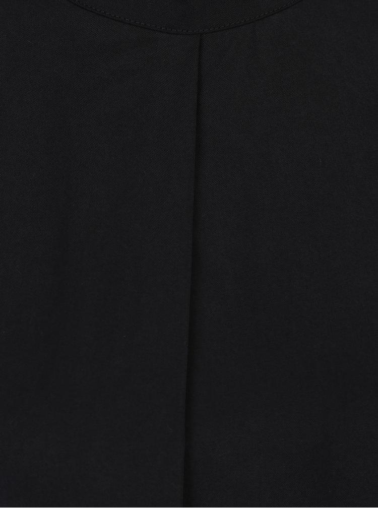 Černá halenka s 3/4 rukávy VERO MODA Balance