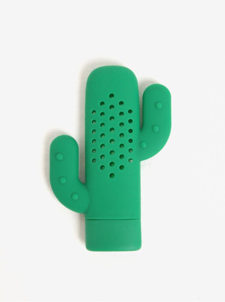 Zelené sítko na koření ve tvaru kaktusu Kikkerland