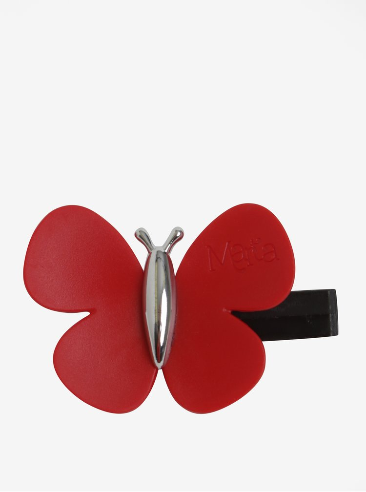Červený vonný motýlek do auta Motýlek Marta Sicily