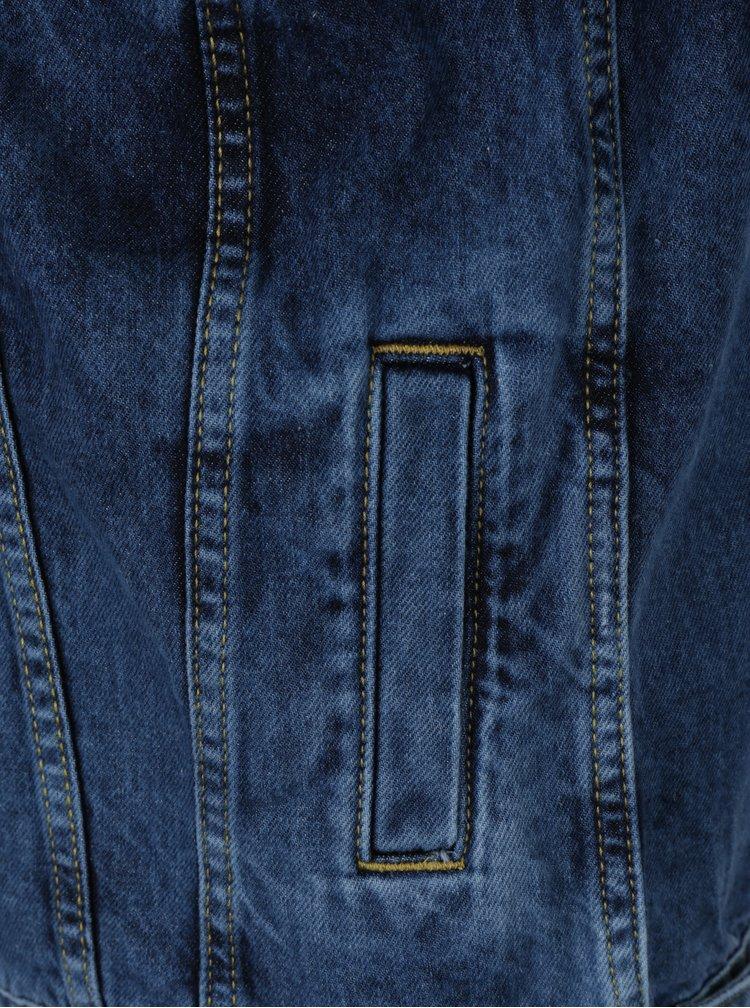 Tmavě modrá holčičí džínová bunda LIMITED by name it Fasirana