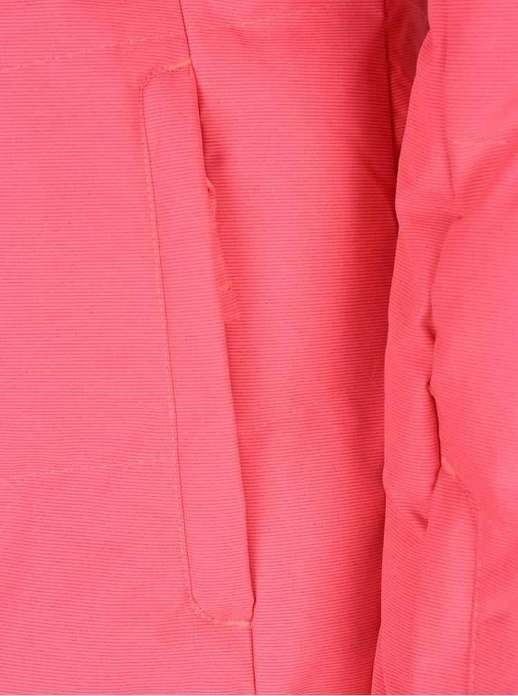 Geaca roz functionala si impermeabila pentru femei Meatfly Fluffy