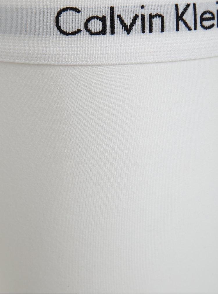 Sada tří classic fit boxerek v černé, bílé a šedé barvě Calvin Klein