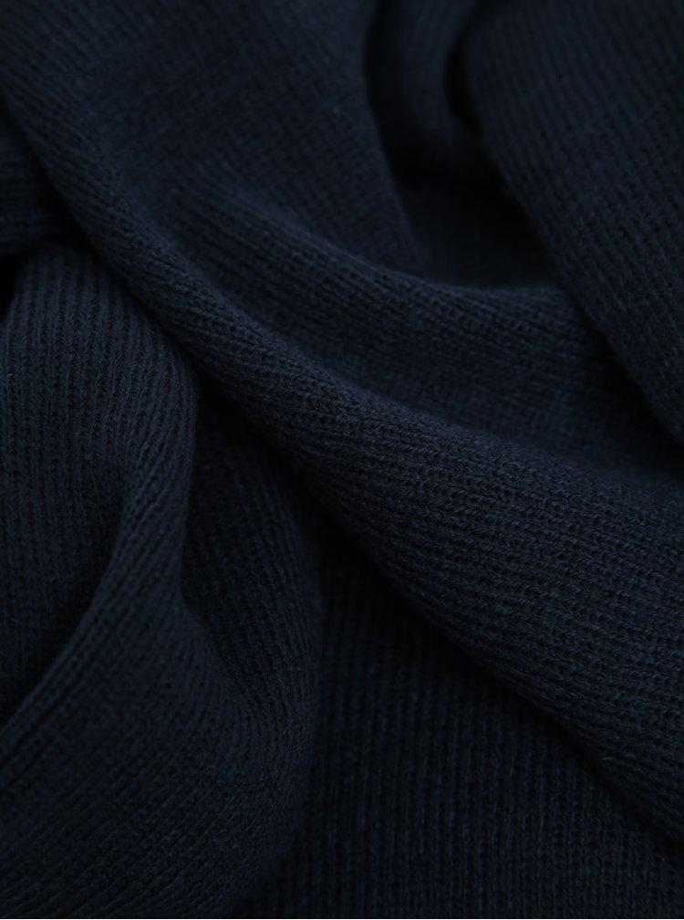 Tmavě modrá šála Shine Original