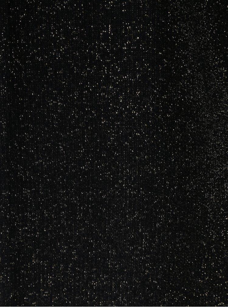 Černé třpytivé sako Yest