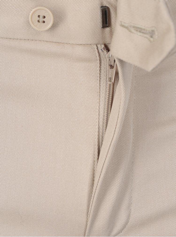 Pantaloni chino bej pentru barbati - Merc