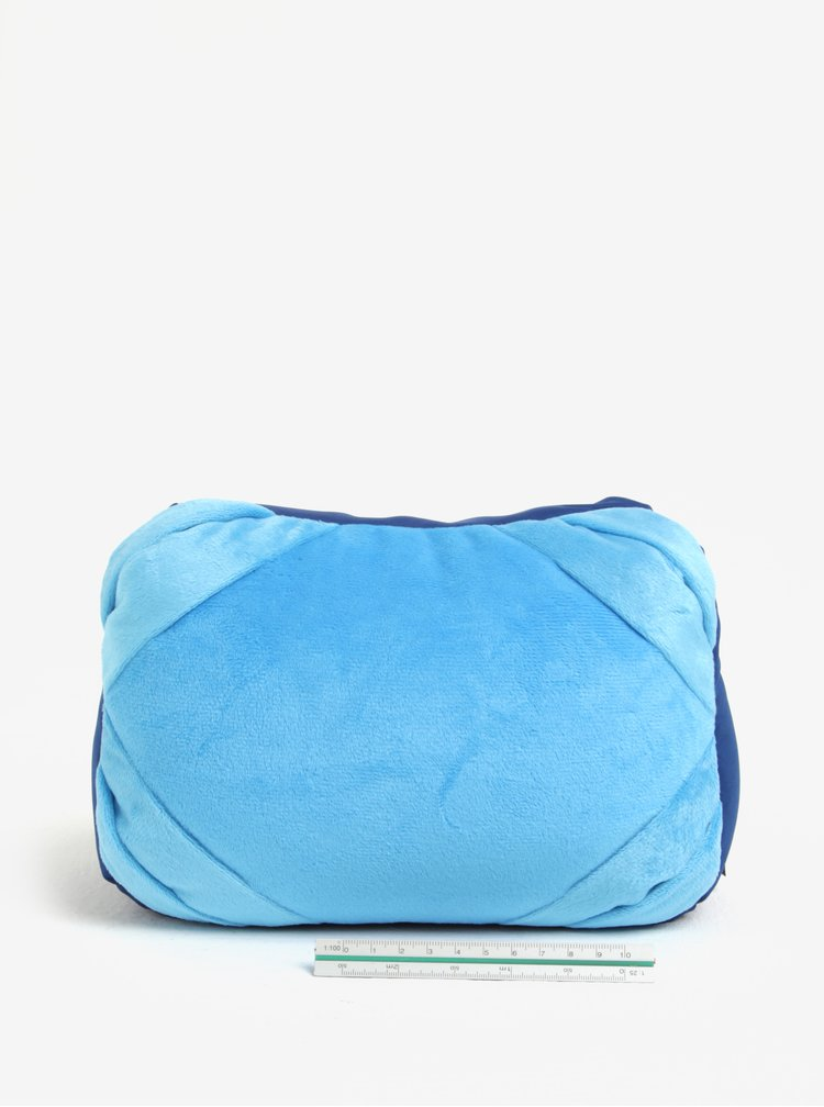 Modrý multifunkční polštář Something Special