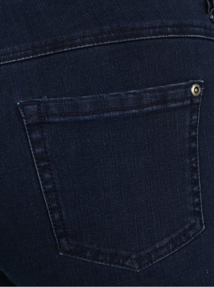 Tmavě modré slim fit džíny Gina Laura