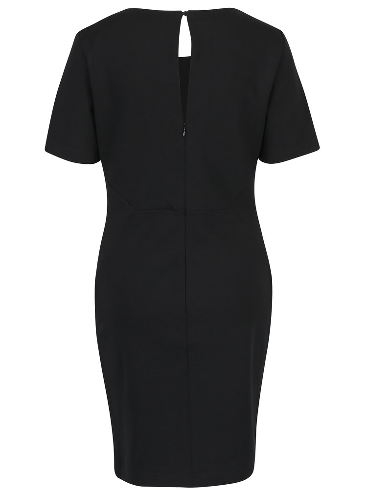 Černé pouzdrové šaty VILA Fellow