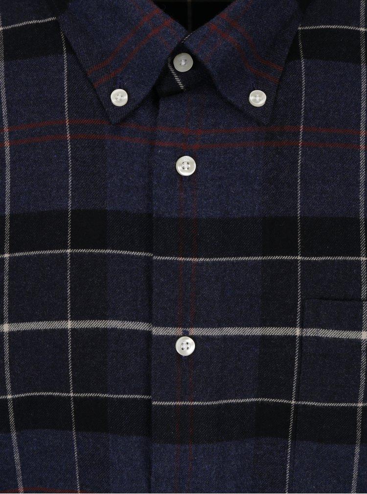 Camasa bleumarin tailored fit in carouri - Barbour Lustleigh
