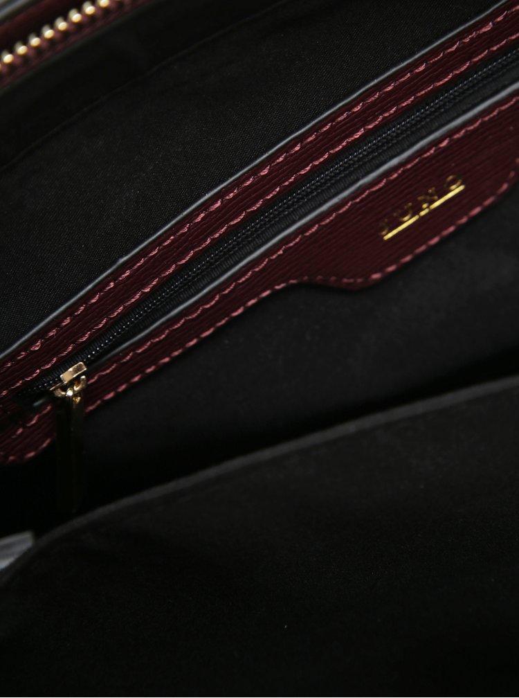 Vínová kabelka do ruky s odnímatelným popruhem Juno