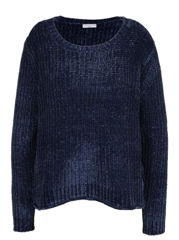 Tmavě modrý svetr Jacqueline de Yong Mine