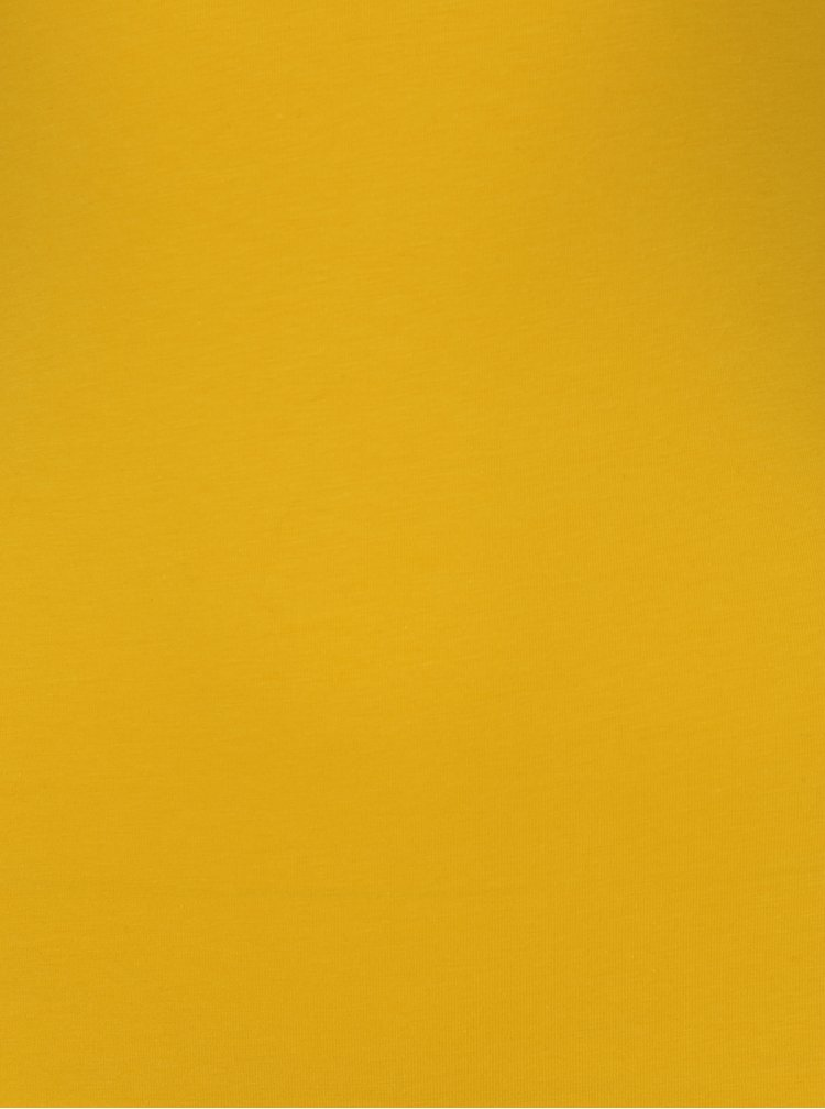 Žluté tričko s pásky na zádech TALLY WEiJL