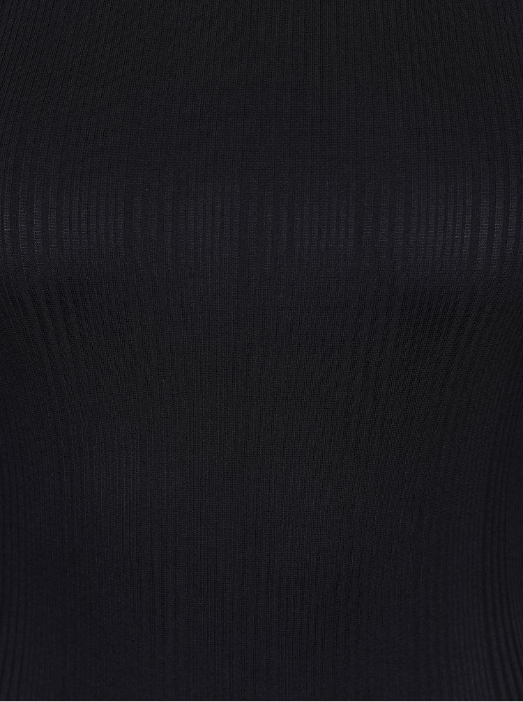 Černé body s odhalenými rameny Miss Selfridge