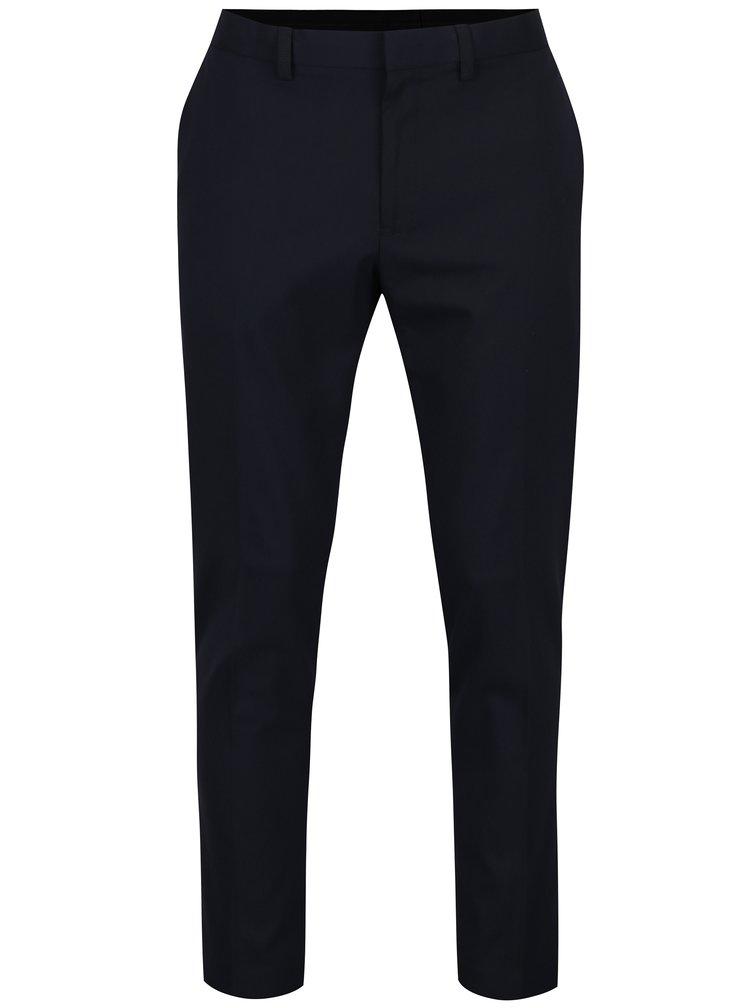 Tmavě modré formální skinny kalhoty Burton Menswear London