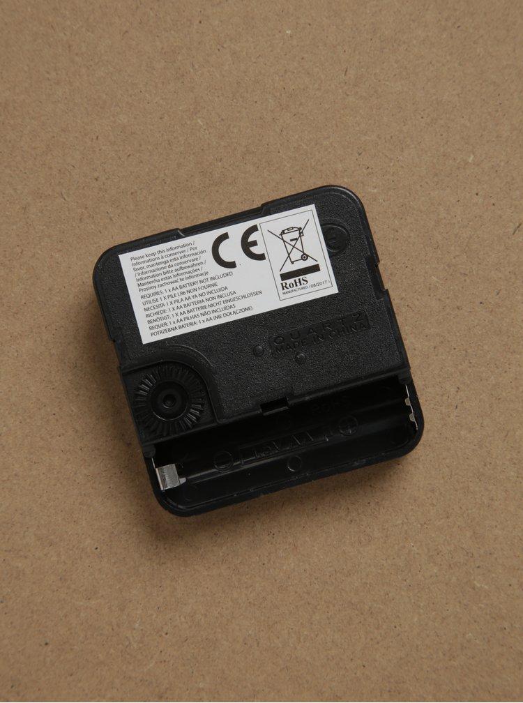 Krémové nástěnné hodiny SIFCON GIN 30x30