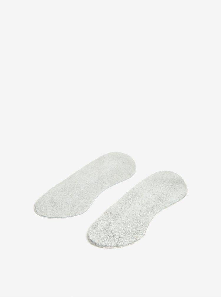 Ochranné a protiskluzové kožené vložky do bot pro oblast paty pedag